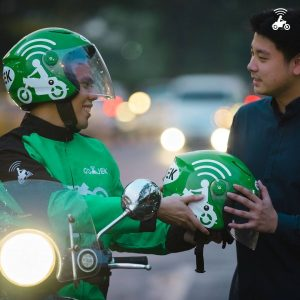 Go-Jek transportation in Bali